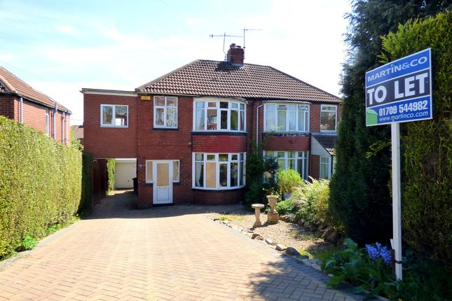 Thumbnail Semi-detached house to rent in Reresby Road, Whiston, Rotherham