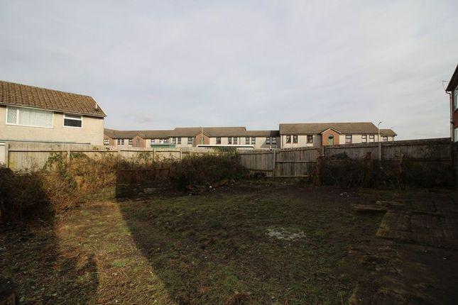 Rear Garden of Heol Treferig, Beddau, Pontypridd CF38