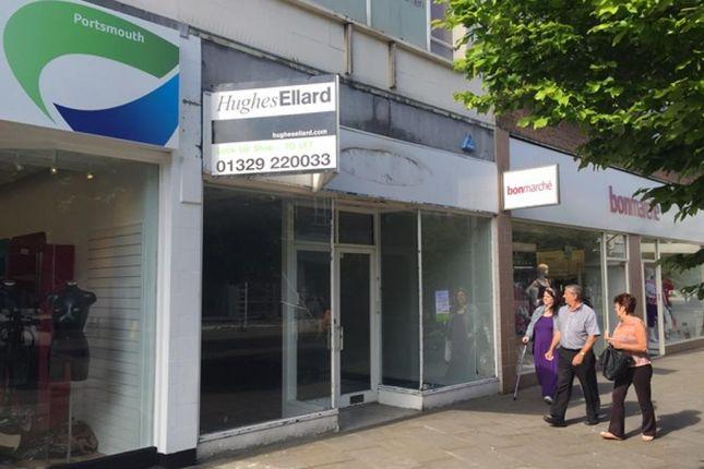 Thumbnail Retail premises to let in Arundel Street, Portsmouth