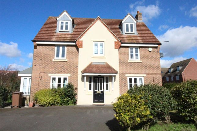 Thumbnail Detached house to rent in Harewood Crest, Brough