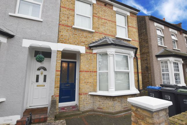 Thumbnail End terrace house to rent in Rymer Road, Addiscombe, Croydon