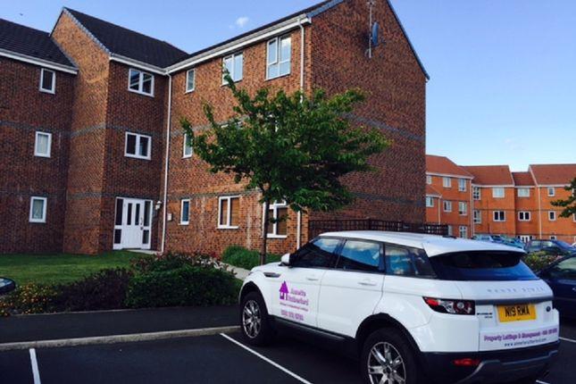 Thumbnail Flat to rent in Ashfield Mews, Hunters Edge, Wallsend, Newcastle Upon Tyne