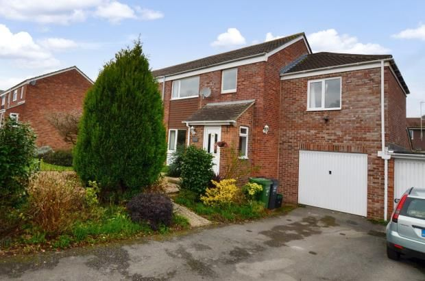 Thumbnail Semi-detached house for sale in Broughton Close, Taunton, Somerset