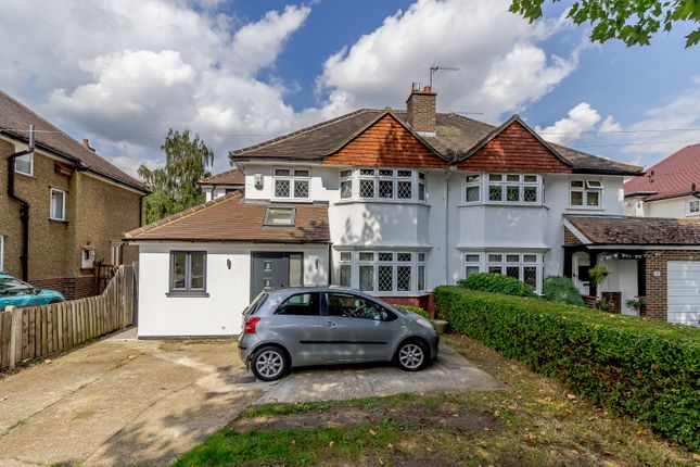 Thumbnail Semi-detached house for sale in Woodham Lane, New Haw, Addlestone