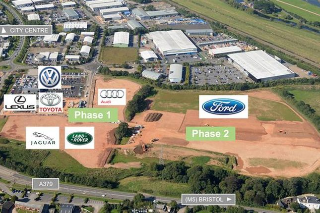 Thumbnail Land to let in Exeter
