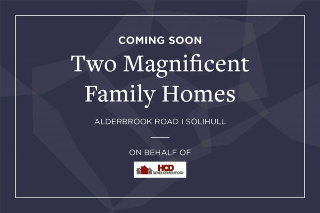 Thumbnail Detached house for sale in Alderbrook Road, Solihull, West Midlands