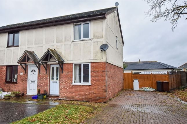 Thumbnail End terrace house for sale in Tortosa Close, Colchester, Essex
