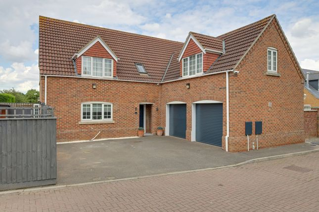 Thumbnail Detached house for sale in Harpers Court, Emneth, Wisbech
