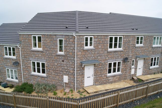 Thumbnail Terraced house to rent in Wadlands Meadow, Okehampton