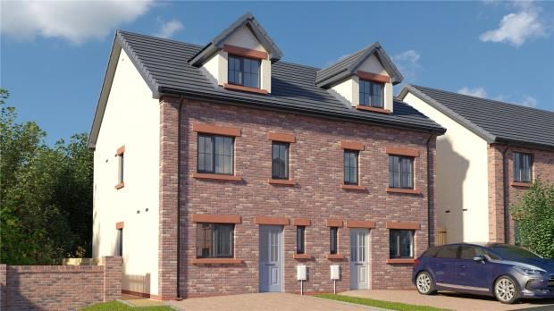Thumbnail Semi-detached house for sale in Plot 13 The Eamont, St. Cuthberts, Off King Street, Wigton