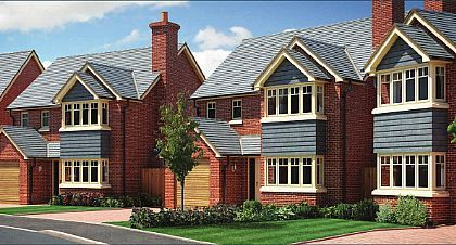 Thumbnail Detached house for sale in Plot 18 - The Eyton, (Left Hand) Perry View, Prescott, Baschurch, Shropshire