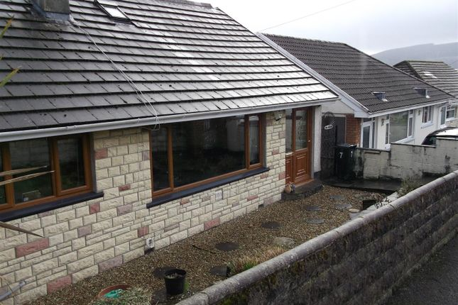 Thumbnail Detached bungalow for sale in The Oval, Merthyr Tydfil