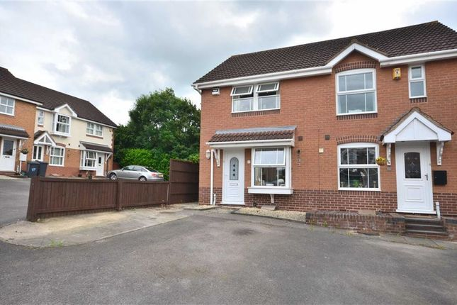 Thumbnail Semi-detached house for sale in Dodington Close, Barnwood, Gloucester