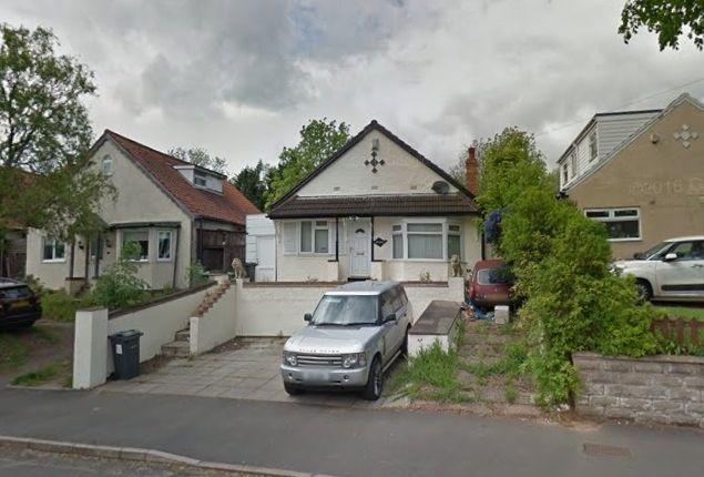 Thumbnail Bungalow for sale in Detached Bungalow, Moor End Lane, Erdington