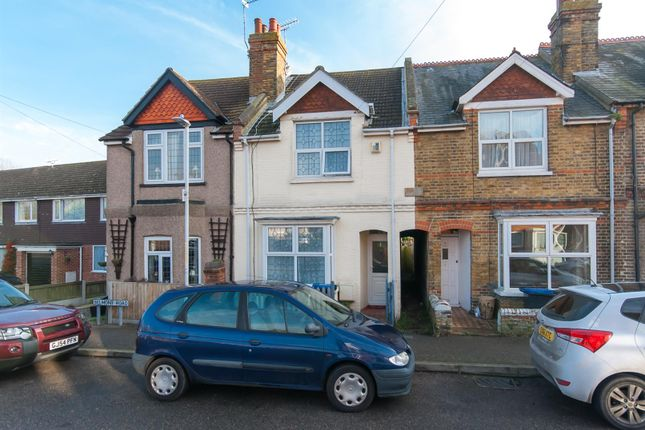 Thumbnail Terraced house for sale in Belmont Road, Westgate-On-Sea