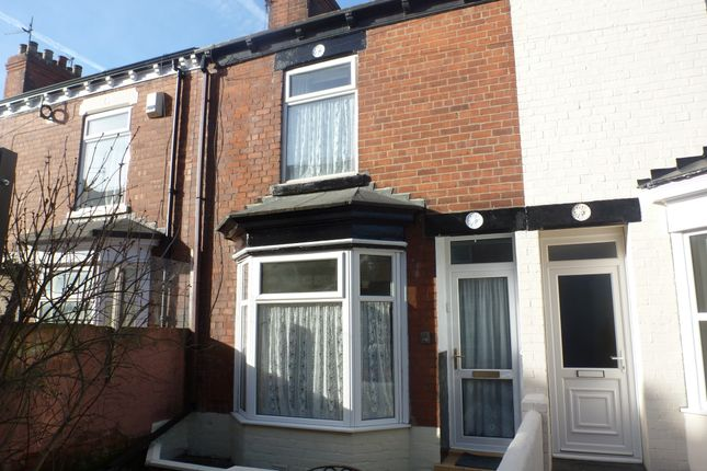 Thumbnail Terraced house to rent in Torquay Villas, Hull