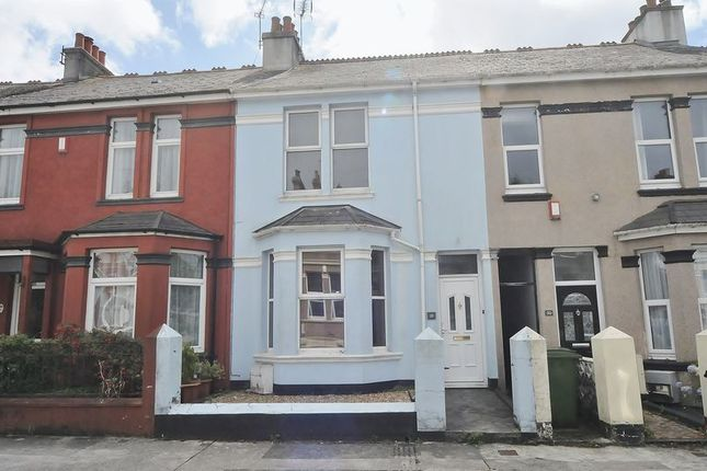 Thumbnail Terraced house for sale in Forest Avenue, Plymouth
