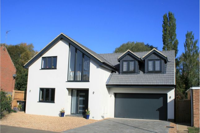 Thumbnail Detached house for sale in Meadway, Harrold, Bedford