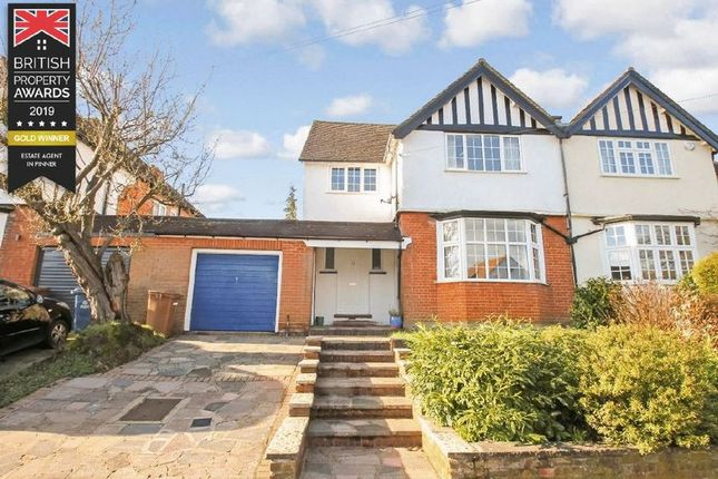 Thumbnail Semi-detached house for sale in Love Lane, Pinner