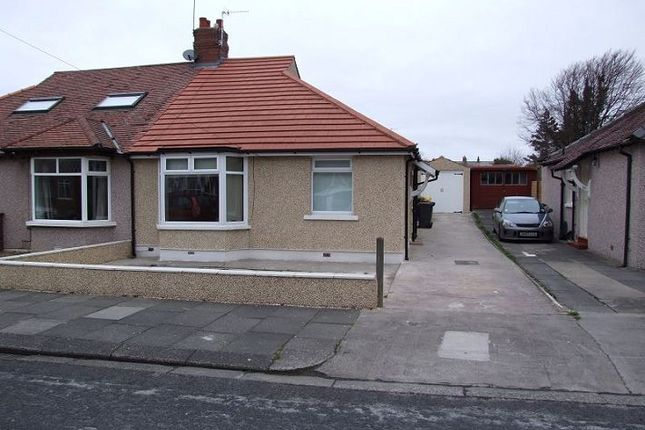Thumbnail Semi-detached bungalow to rent in Colwyn Avenue, Bare, Morecambe