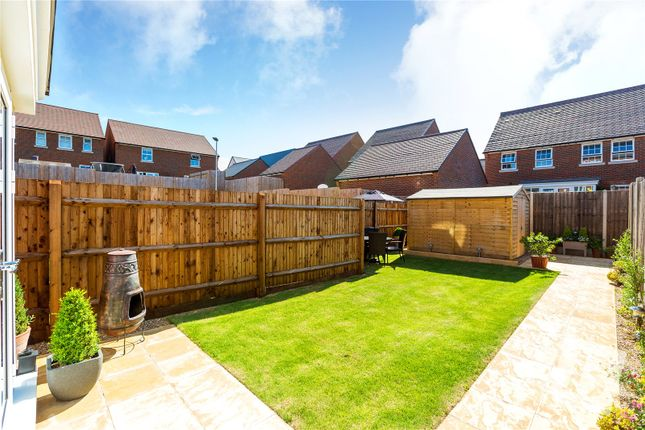 Thumbnail Terraced house for sale in Raven Close, Castle Hill, Ebbsfleet Valley, Swanscombe