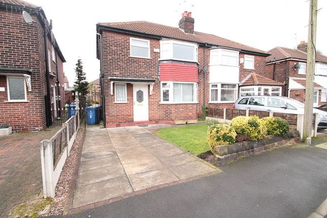 Thumbnail Semi-detached house to rent in Irwin Road, Altrincham