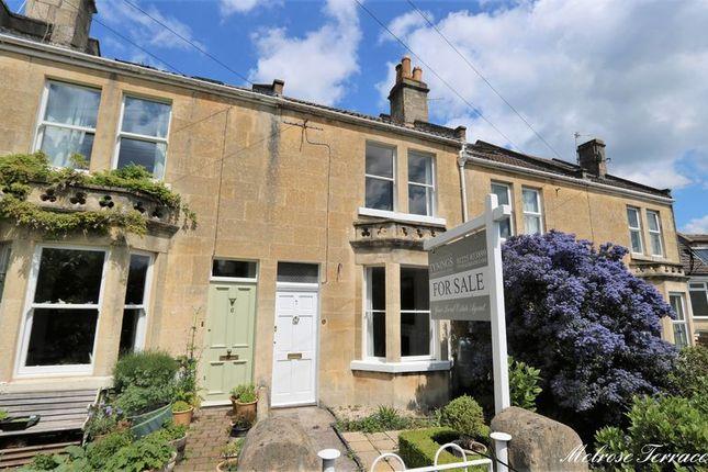 Thumbnail Terraced house for sale in Melrose Terrace, Fairfield Park, Bath