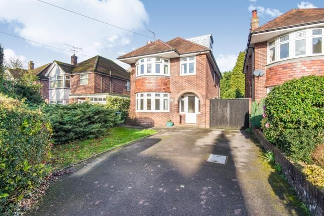 Thumbnail Detached house for sale in Upper Shirley, Southampton, Hampshire