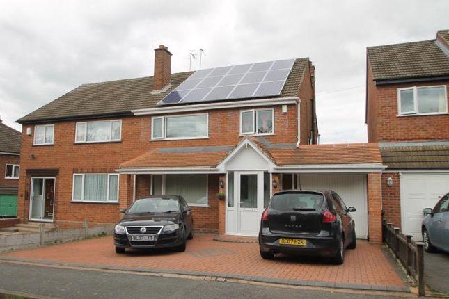 Thumbnail Semi-detached house to rent in Hagley Road, Halesowen, Hayley Green, West Midlands