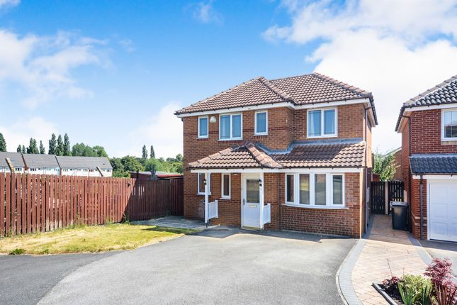 Thumbnail Detached house for sale in Silver Well Drive, Staveley, Chesterfield