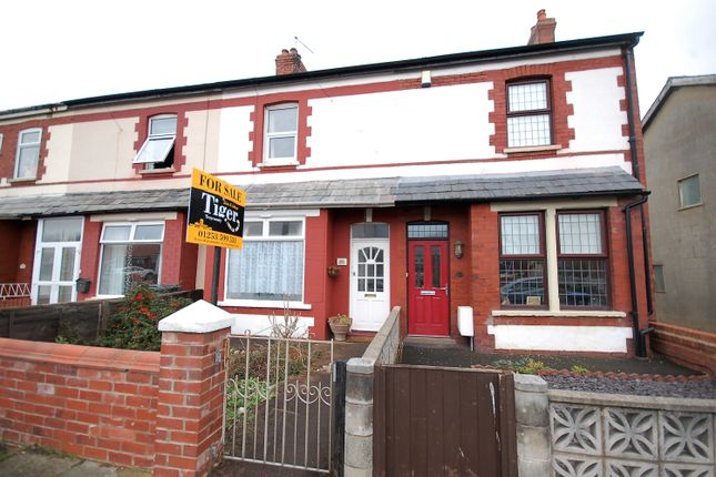 Thumbnail Terraced house for sale in Kelvin Road, Thornton-Cleveleys, Lancashire