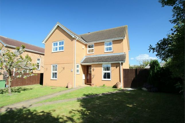 Thumbnail Detached house for sale in Rectory Close, Great Paxton, St. Neots