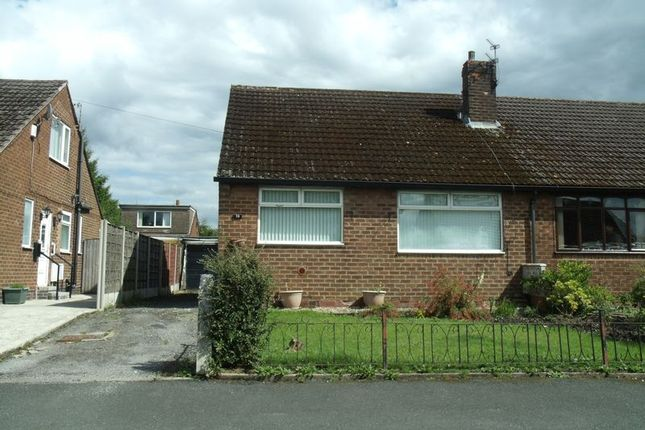 Thumbnail Semi-detached bungalow for sale in Mallory Road, Hyde