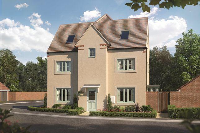 "Thumbnail Semi-detached house for sale in ""Hexham"" at Butt Lane, Thornbury, Bristol"