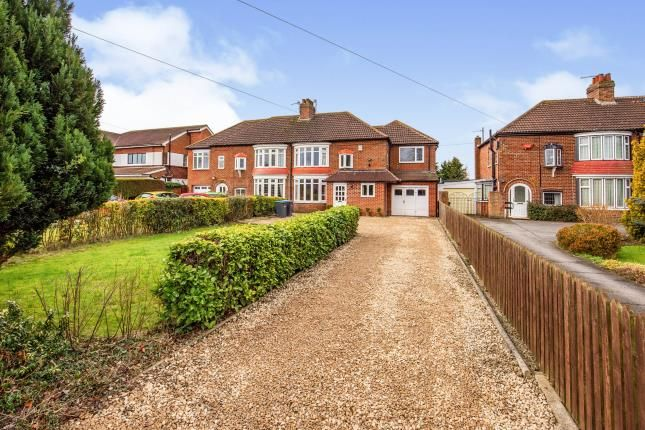 4 bed semi-detached house for sale in Station Road, Stokesley, North Yorkshire, Uk TS9