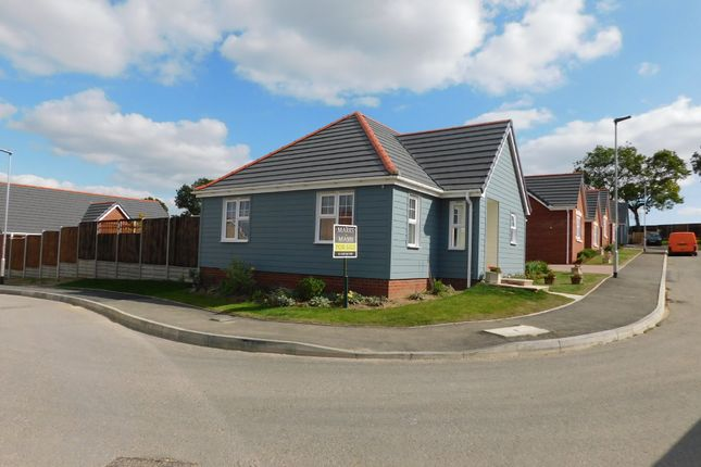 Detached bungalow for sale in Farriers Road, Stowmarket