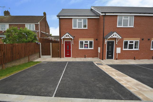 Thumbnail End terrace house for sale in Balmoral Road, Borrowash, Derby