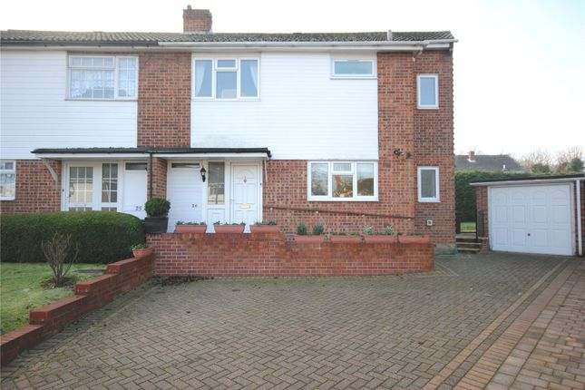 Thumbnail Semi-detached house for sale in Canford Close, Chelmsford, Essex