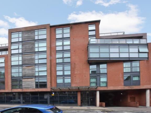 Front External of Smithfield Apartments, 131 Rockingham Street, Sheffield, South Yorkshire S1
