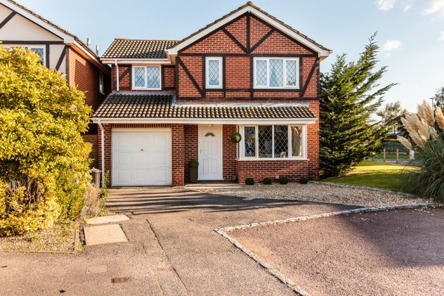 Thumbnail Detached house for sale in Merrifield Close, Reading, Wokingham