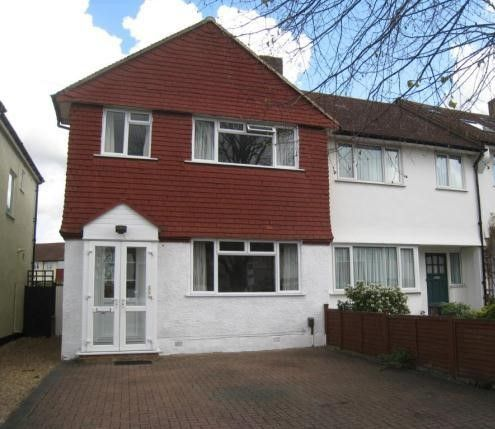 Thumbnail End terrace house to rent in Bramdean Crescent, London