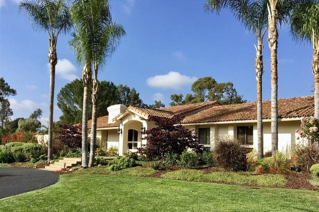 5 bed property for sale in 4611 El Mirlo, Rancho Santa Fe, Ca, 92067
