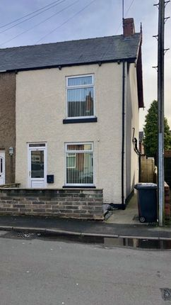Thumbnail End terrace house to rent in Chapman Lane, Grassmoor