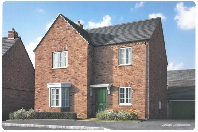 Thumbnail Detached house for sale in Plot 6, Moorland Glade, Hillmorton, Rugby