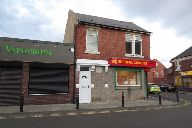 Thumbnail Flat to rent in Park Road, Wallsend, Tyne And Wear.
