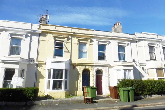 Thumbnail Maisonette for sale in North Road West, Plymouth