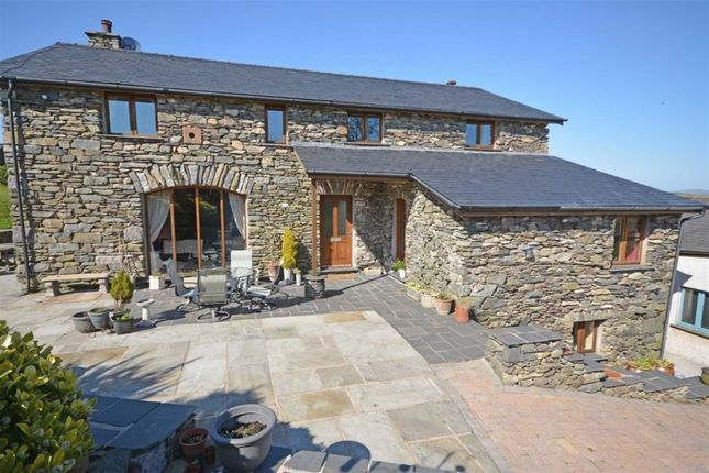 Thumbnail Detached house for sale in Eller Riggs Brow, Ulverston, Cumbria