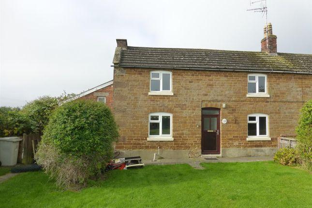 Thumbnail Cottage to rent in Main Street, Caldecott, Market Harborough
