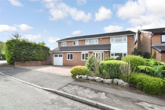Thumbnail Detached house for sale in Hey Croft, Whitefield, Manchester, Greater Manchester