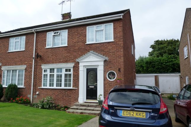 Thumbnail Semi-detached house for sale in Weatherly Drive, Broadstairs